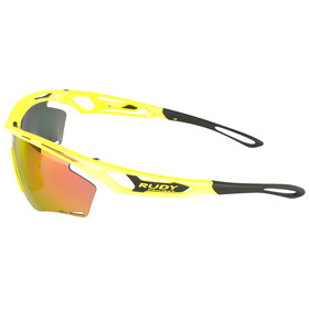 Rudy Project Tralyx Glasses Yellow Fluo Gloss - RP Optics Multilaser Orange